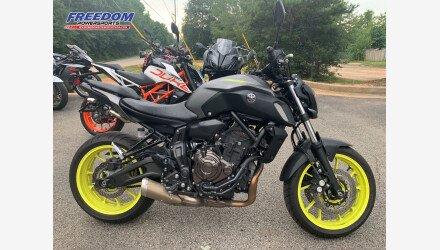2019 Yamaha MT-07 for sale 200950941