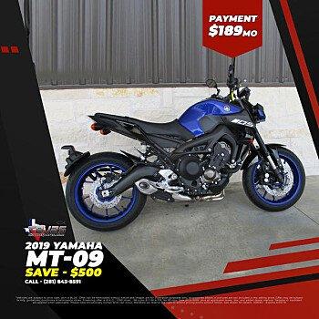 2019 Yamaha MT-09 for sale 200785919