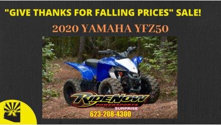 2019 Yamaha YFZ50 for sale 200821851
