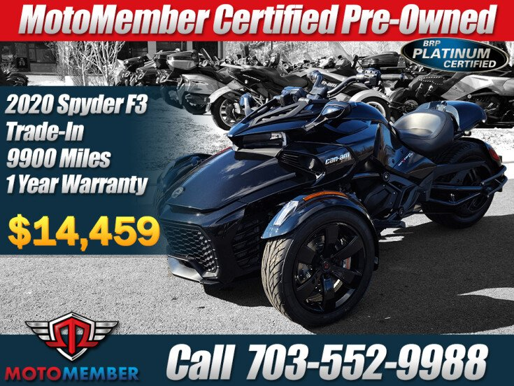 2020 Can-Am Spyder F3 for sale 201032945