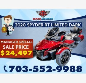 2020 Can-Am Spyder RT for sale 201034069