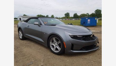 2020 Chevrolet Camaro Convertible for sale 101384145