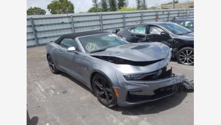2020 Chevrolet Camaro SS Convertible w/ 2SS for sale 101385463