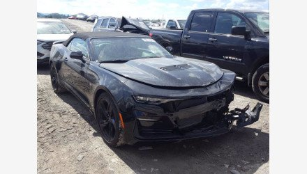 2020 Chevrolet Camaro SS Convertible w/ 2SS for sale 101415648