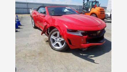 2020 Chevrolet Camaro Convertible for sale 101438602