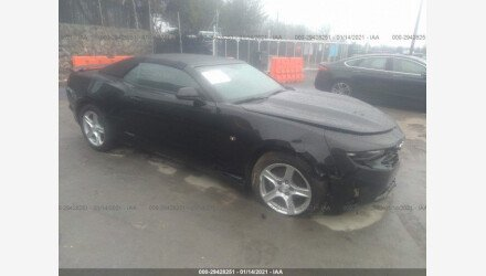 2020 Chevrolet Camaro LT Convertible w/ 1LT for sale 101438832