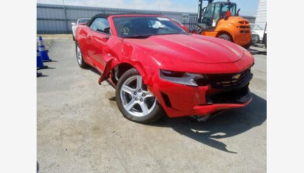 2020 Chevrolet Camaro Convertible for sale 101442794
