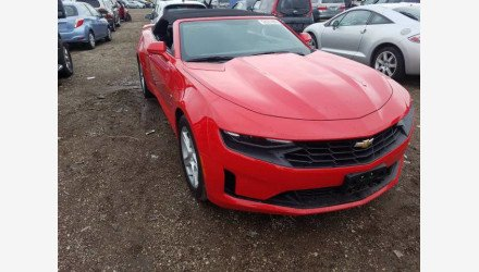 2020 Chevrolet Camaro Convertible for sale 101463205