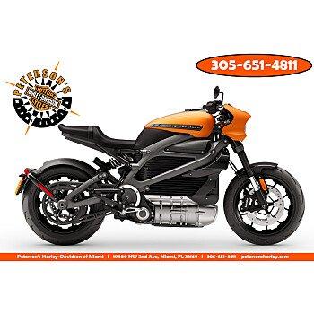 2020 Harley-Davidson Livewire for sale 200868095