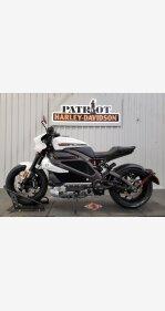 2020 Harley-Davidson Livewire for sale 201007300