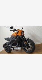 2020 Harley-Davidson Livewire for sale 201024487
