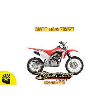 2020 Honda CRF125F for sale 200808522