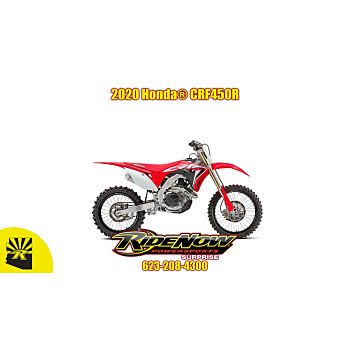 2020 Honda CRF450R for sale 200808430