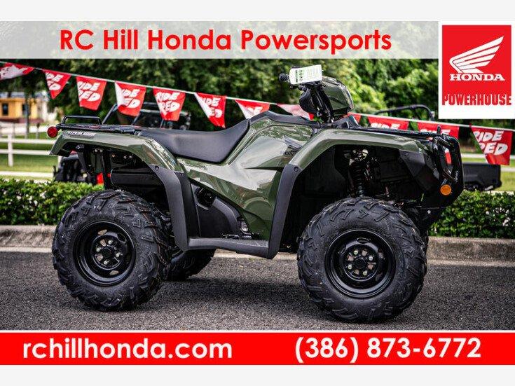 2020 Honda Fourtrax Foreman Rubicon For Sale Near Deland