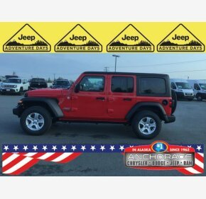 2020 Jeep Wrangler 4WD Unlimited Sport for sale 101186432