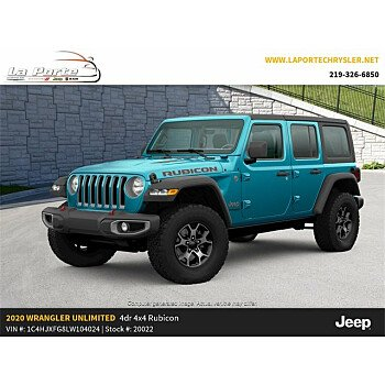 2020 Jeep Wrangler 4WD Unlimited Rubicon for sale 101201685