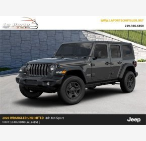 2020 Jeep Wrangler for sale 101222708