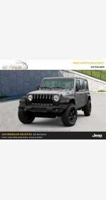 2020 Jeep Wrangler 4WD Unlimited Sport for sale 101223203