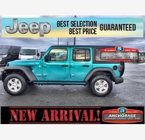 2020 Jeep Wrangler 4WD Unlimited Sport for sale 101236250