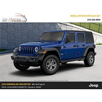2020 Jeep Wrangler 4WD Unlimited Sport for sale 101265621