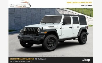 2020 Jeep Wrangler 4WD Unlimited Sport for sale 101276638