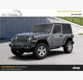 2020 Jeep Wrangler 4WD Sport for sale 101321966