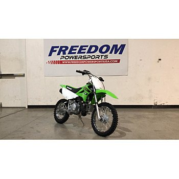 2020 Kawasaki KLX110 for sale 200787617