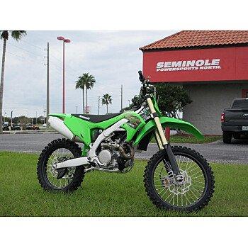 2020 Kawasaki KX450F for sale 200821425