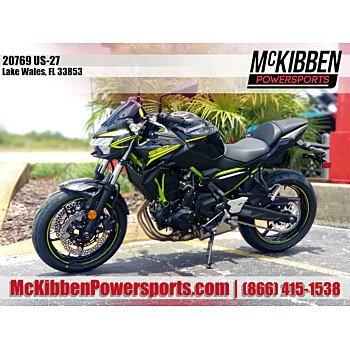 2020 Kawasaki Z650 for sale 200916542