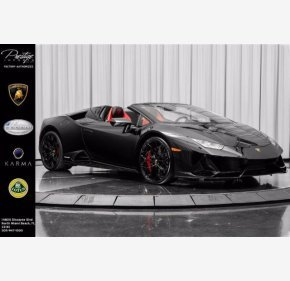2020 Lamborghini Huracan EVO Spyder for sale 101373571