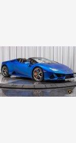 2020 Lamborghini Huracan EVO Spyder for sale 101425218