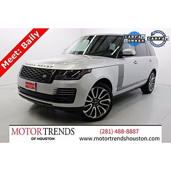 2020 Land Rover Range Rover for sale 101450764