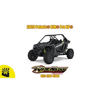 2020 Polaris RZR Pro XP for sale 200808331
