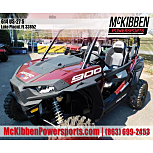 2020 Polaris RZR S 900 for sale 200827559