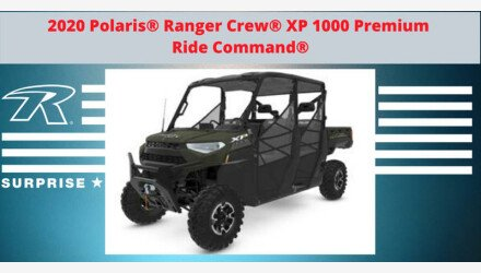 2020 Polaris Ranger Crew XP 1000 for sale 200859830