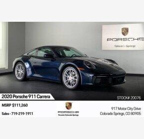 2020 Porsche 911 for sale 101271881