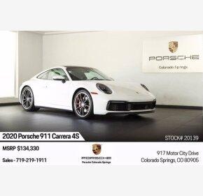 2020 Porsche 911 Carrera 4S for sale 101342392