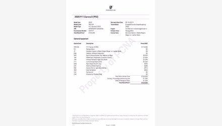 2020 Porsche 911 Carrera S for sale 101410899