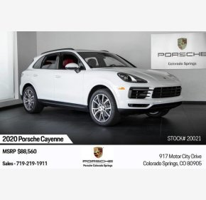 2020 Porsche Cayenne for sale 101211031