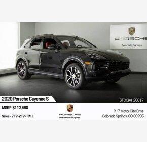 2020 Porsche Cayenne for sale 101211032