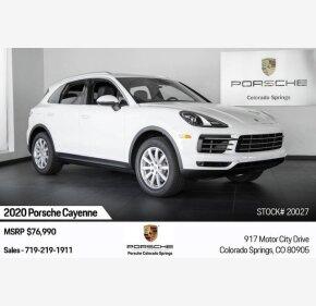 2020 Porsche Cayenne for sale 101235184