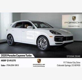 2020 Porsche Cayenne for sale 101236930