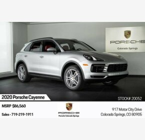 2020 Porsche Cayenne for sale 101242146