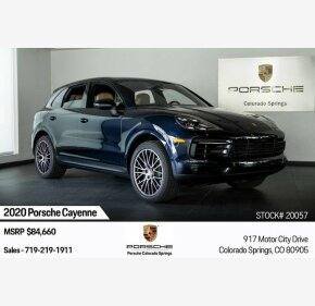 2020 Porsche Cayenne for sale 101246096