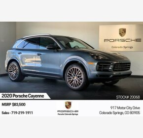 2020 Porsche Cayenne for sale 101270940