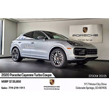 2020 Porsche Cayenne Turbo for sale 101299927