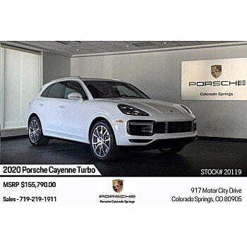 2020 Porsche Cayenne Turbo for sale 101315493