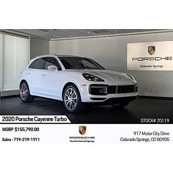 2020 Porsche Cayenne Turbo for sale 101315493