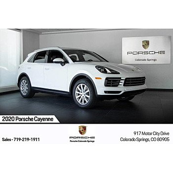 2020 Porsche Cayenne for sale 101327547