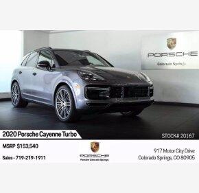 2020 Porsche Cayenne Turbo for sale 101363484